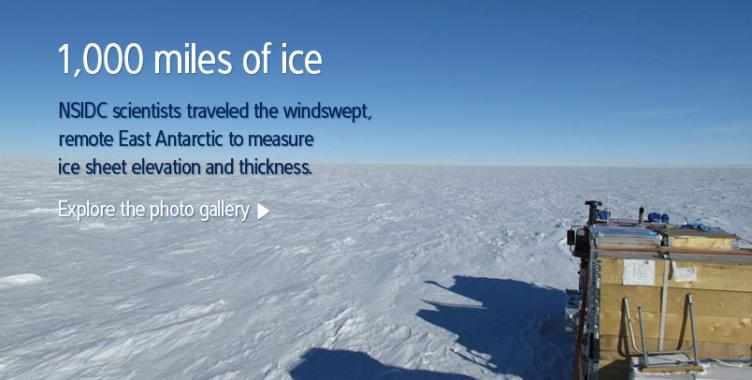 Explore the NSIDC gallery